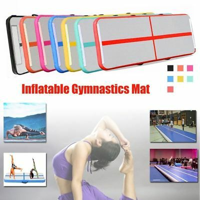 10ft Inflatable Air Track Tumbling Floor Gymnastics Practice Training Mat GYM FR