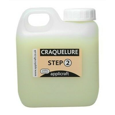 Applicraft : Craquelure Base : Medium Crack Effect : Water Based : 500ml - 500