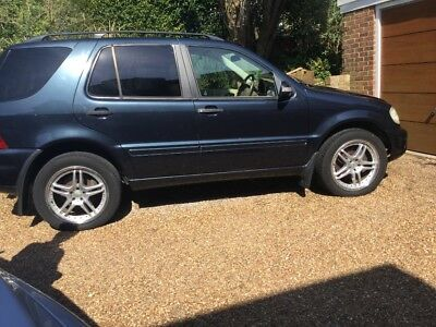 Mercedes ML 270 CDI for spares or repairs