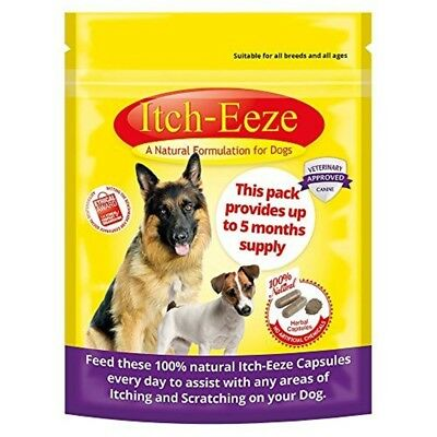 Itch-eeze Capsules For Dogs - Vermx Herbal 50 Allergyx Itcheeze Pouch Cat