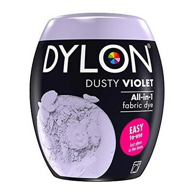 Dylon Machine Dye Pod, Dusty Violet, Easy-to-use Fabric Colour For Laundry,
