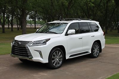 Lexus LX 570 1 Owner Perfect Carfax 570 1 Owner MSRP $98904 One Owner Perfect Carfax TV/DVD Mark Levinson Sound Only 10k Miles MSRP $98904