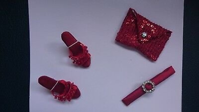 Tonner. Red holiday Accessory Set. TBA405. neu in OVP
