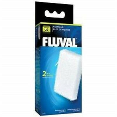 Hagen Fluval Underwater Filter Foam Pad: U2 foam Pad - U2 Internal Media