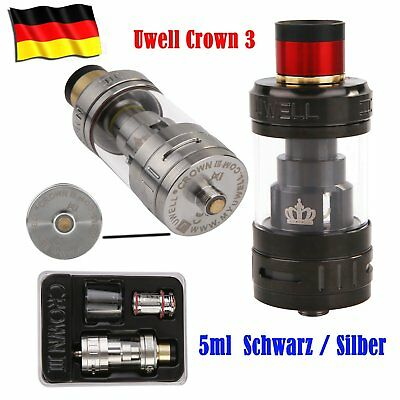 Uwell Crown 3 III Clearomizer Set 5ml Tank, Vape, Verdampfer
