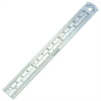 Jakar Steel Rule - 30cm - Ruler Quality Inches