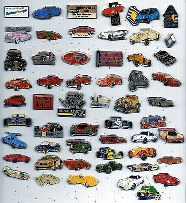 pin pin's voiture citroen renault ford ect