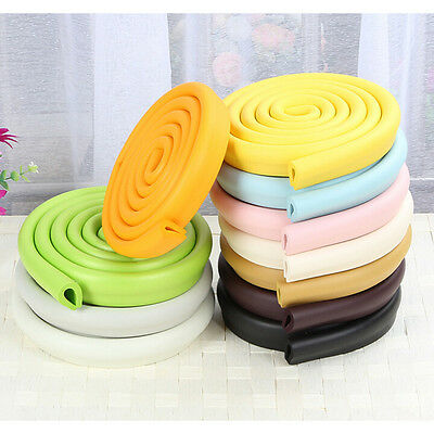Baby Safety Corner Desk Edge Bumper Protection Cover Protector Table Cushion JX
