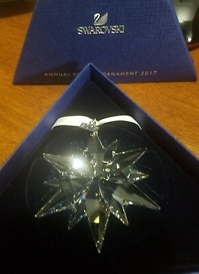 2017 Annual Edition Large Christmas Ornament Swarovski Crystal #5257589 2017-X