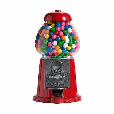 """Classic Medium Gumball Bank Machine 12"""" Bubble Gum Gifts Display Kids Spin Party"""