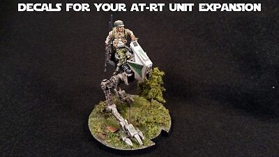 Star Wars Legion Decals for AT-RT Unit Expansion