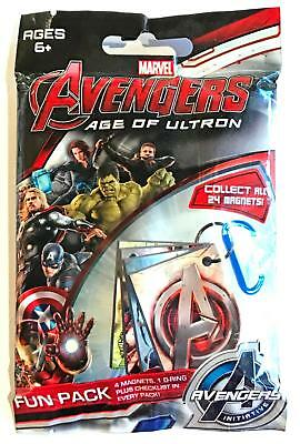 AVENGERS AGE OF ULTRON MAGNETS (2015 Movie)--Unopened Pack (s)^