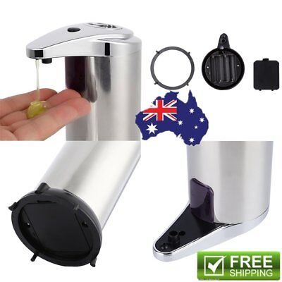 Automatic Stainless Steel IR Sensor Touchless Soap Dispenser / Stand Handsfree A