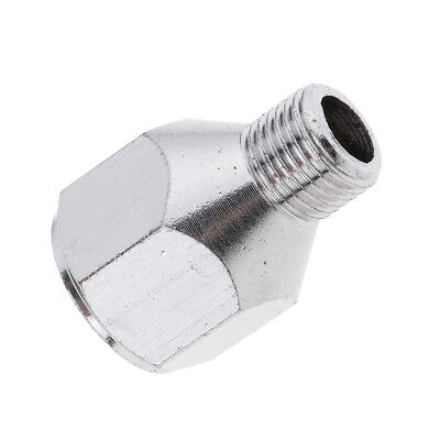 Airbrush Hose Adaptor Fitting 1/4'' BSP Female to 1/8'' BSP Male Connectors