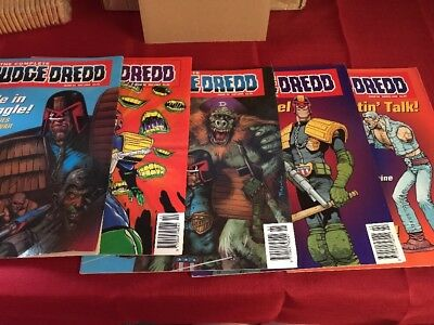 The Complete Judge Dredd Comics 1994-1995 - The Law in Order Issues 34 - 38