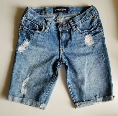 Abercrombie Kids Jean Shorts For Girls Size 8