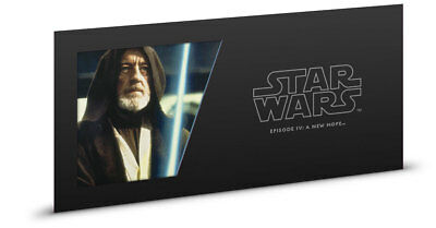 2018 Niue Star Wars: A New Hope -Obi-Wan Kenobi Foil Note 5 g Silver BU SKU52861