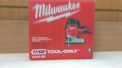 Milwaukee M12 Cordless Jig Saw 2445-20 Tool Only
