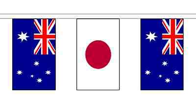 Australia Friendship 14 Flag 5m Knitted Polyester Diplomatic Bunting