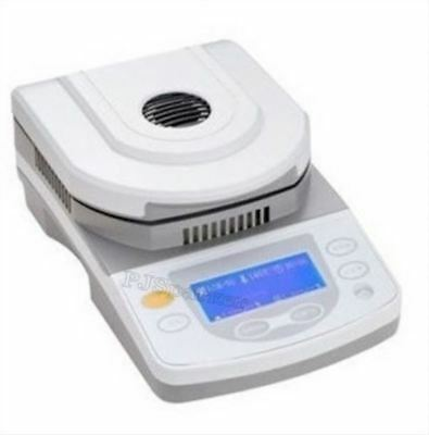 Digital 50G Capacity 5Mg Readability Lab Moisture Analyzer With Halogen Heati em