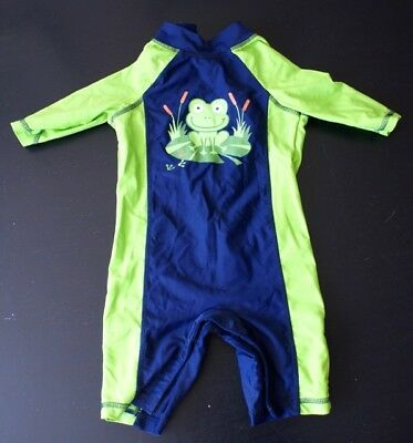 Boys' UV all-in-one sun-suit/swimsuit | 12-18 months | Mothercare | SPF 40+