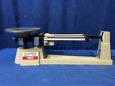 OHAUS Triple Beam Balance Scale 700/800 Series 2610g 5lb 2oz SEE DESCRIPTION