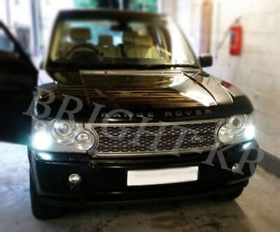 Range Rover Vogue L322 Xenon ICE WHITE 8 SMD Side Light LED Bulbs - ERROR FREE