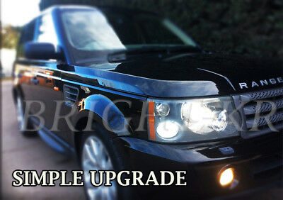 Range Rover Vogue L322 Xenon Cool White Side Light Led Bulbs- Error Free Upgrade