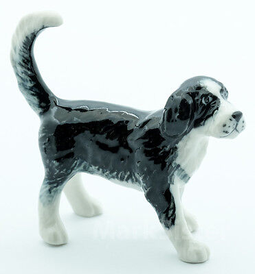 Figurine Animal Ceramic Statue Otterhound  Dog - CDG112