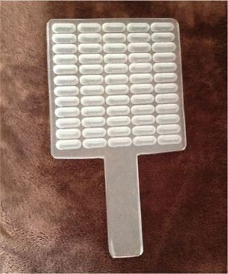 Manual Capsule Counter Capsule Filler New Size 100 Holes Counting Board zs