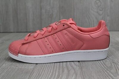 66a445cfa561 29 New Adidas Superstar 80s Shoes Women s Tactile Rose Leather 7- 8.5 BY9750