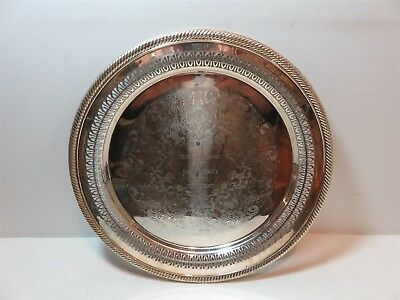 Miss America Pageant Miss Wilmington Pageant 1977 Silverplate Serving Tray