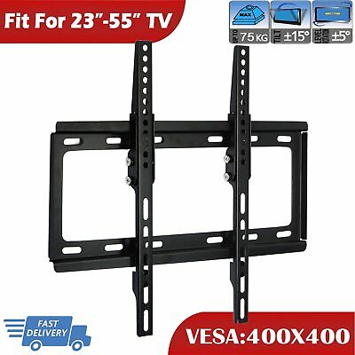 Flat Slim Tv Wall Mount Bracket 23 28 30 32 40 42 48 50 55 Inch Led Lcd Plasma Bathroom Fixtures Home Improvement