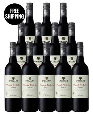 Mcwilliams Family Collection Shiraz 2017 (12 Bottles)