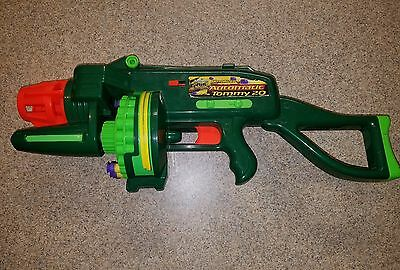 Buzz Bee Toys Air Blaster  Motorized Automatic Tommy 20 with Darts