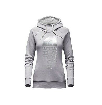 New Large Womens North Face French Terry Trivert Pull Over Hoodie Sweatshirt