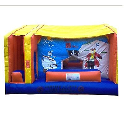 MASSIVE JUMPING CASTLE SALE 5mx5.5m Pirates Ahoy Moving Mouth**Commercial**USED