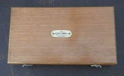 Arthur H. Thomas Co. Philadelphia weights - Antique Made in Germany