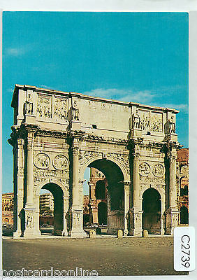 C2739cgt Italy Rome Arch of Constantine postcard