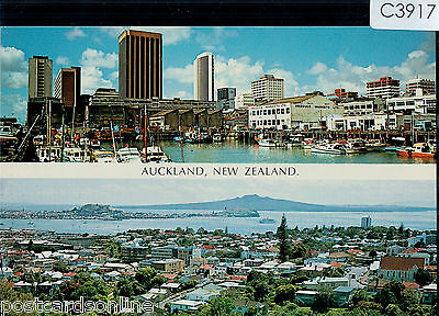 C3917ryt New Zealand Auckland Multiview postcard