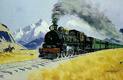 L4603cgt Transport Rail New Zealand Kingston Flyer postcard