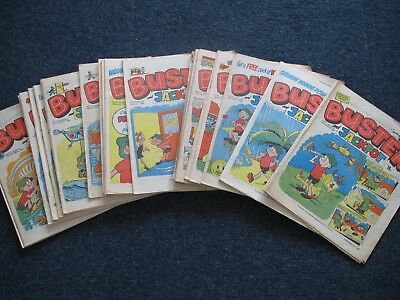 BUSTER  Comic : 1978, 1979, 1981,1982, 1983 - Choose which issues you need