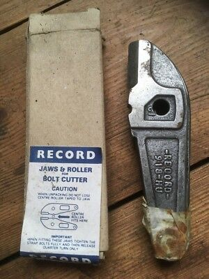 Record Replacement Bolt Cutter Jaws 918  Made In England