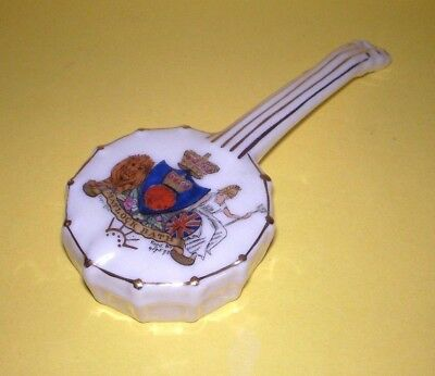 Shelley Crested China Banjo Matlock Bath Crest