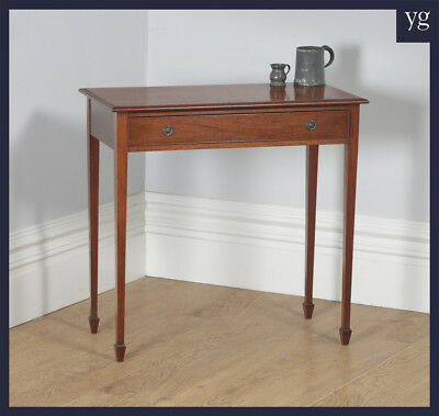 Antique English Regency Style Mahogany Occasional Hall Writing Side Table c1910