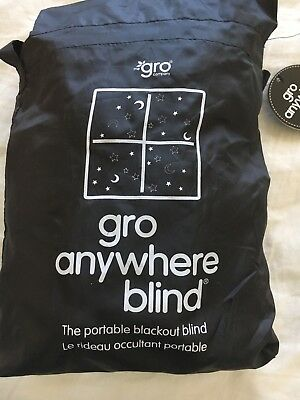 GRO ANYWHERE Blackout Blind Portable Preloved Excellent Condition