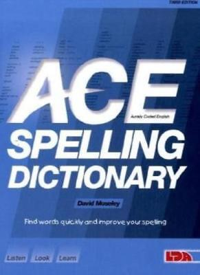 ACE Spelling Dictionary,David Moseley- 9781855034785