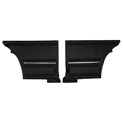 PUI PD200C Reproduction Interior Rear Side Door Panels, 1967 Chevy Camaro, Pair