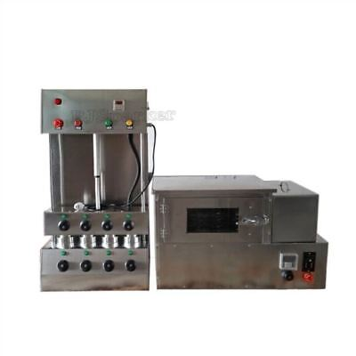 Commercial Pizza Cone Forming Making Machine With Pizza Rotational Oven 220V om