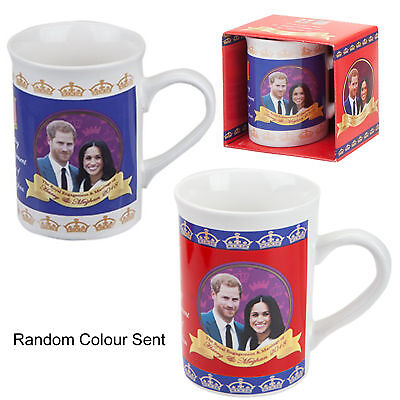 Royal Wedding 19 May 2018 Prince Harry Meghan Markle Souvenir Slim Mug